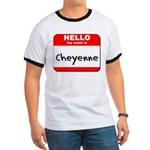 Hello my name is Cheyenne Ringer T