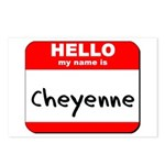 Hello my name is Cheyenne Postcards (Package of 8)