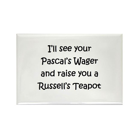 Russell's Teapot Rectangle Magnet
