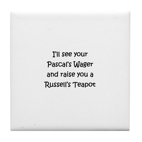 Russell's Teapot Tile Coaster