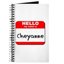Hello my name is Cheyanne Journal