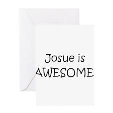 Cute I love josue Greeting Card