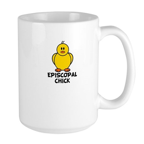 Episcopal Chick Large Mug