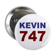 """Kevin 747 2.25"""" Button (10 pack)"""