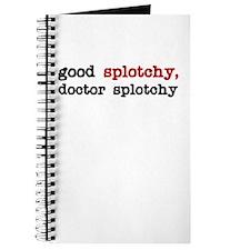 Good Splotchy, Doctor Splotchy Journal