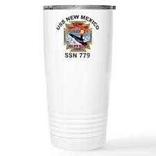SSN 779 USS New Mexico Travel Coffee Mug