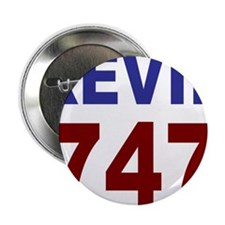 """Kevin 747 2.25"""" Button"""