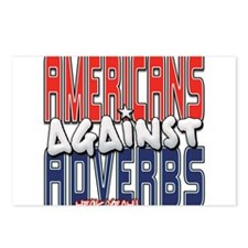 Americans Against Adverbs [SW Postcards (Package o