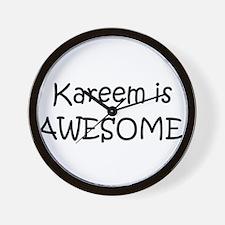 Funny Kareem Wall Clock