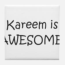 Cool Kareem Tile Coaster