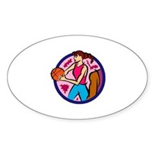 Pass Oval Decal