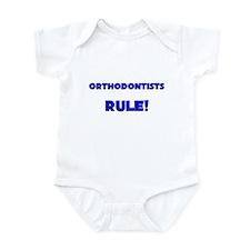 Orthodontists Rule! Infant Bodysuit