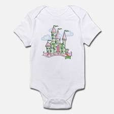 Castle Birthday Princess 1st Infant Bodysuit