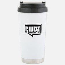 Pivot Stainless Steel Travel Mug