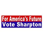 Sharpton for America's Future (sticker)