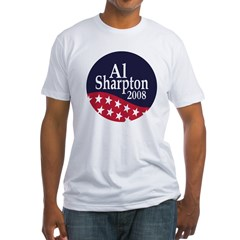 Al Sharpton 2008 Fitted USA T-Shirt
