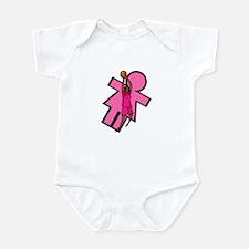 Basketball logo Infant Bodysuit
