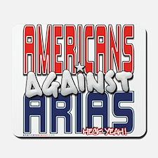 Americans Against Arias [SWAG Mousepad