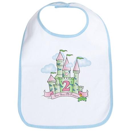 Castle Birthday Princess 2nd Bib