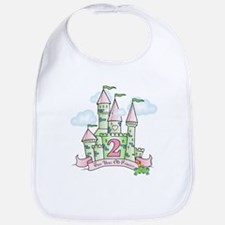Castle Birthday Princess 2nd Bib