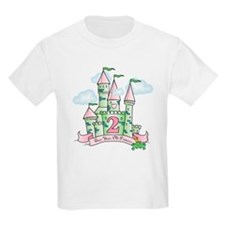 Castle Birthday Princess 2nd T-Shirt
