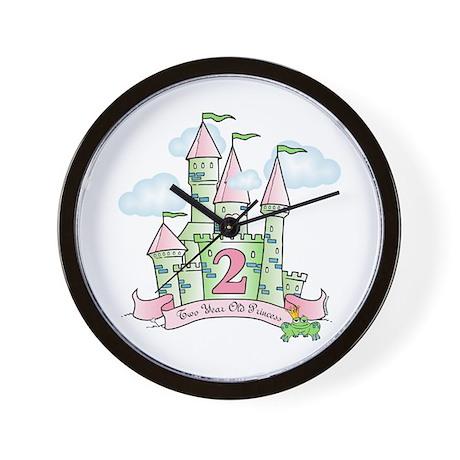 Castle Birthday Princess 2nd Wall Clock