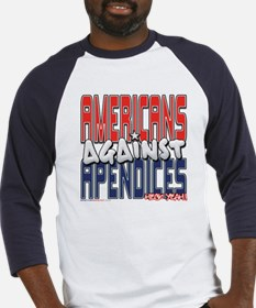 Americans Against Apendices [ Baseball Jersey