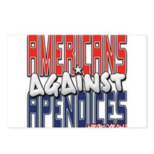 Americans Against Apendices [ Postcards (Package o