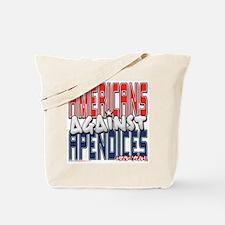 Americans Against Apendices [ Tote Bag