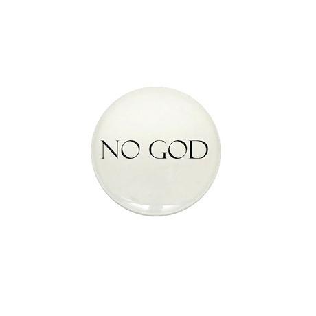 No God Mini Button (10 pack)