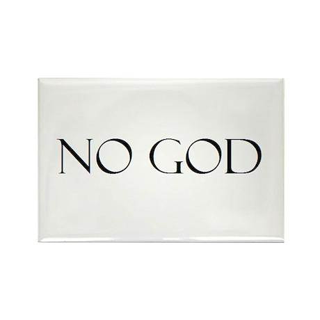 No God Rectangle Magnet