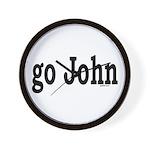 go John Wall Clock