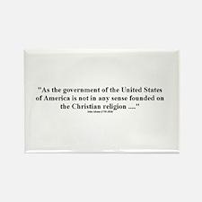 John Adams Rectangle Magnet (100 pack)