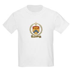 GODBOUT Family Crest Kids Light T-Shirt