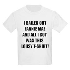Bailout Wall Street Crisis T-Shirt
