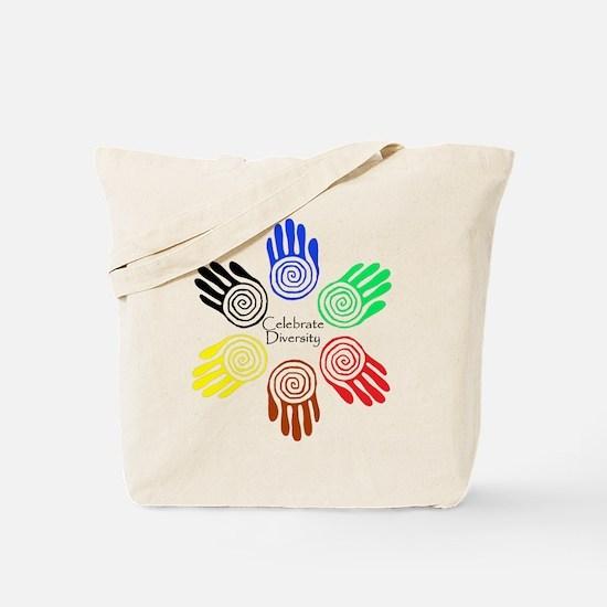 Celebrate Diversity Circle Tote Bag