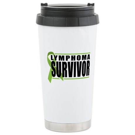 Lymphoma Survivor Stainless Steel Travel Mug