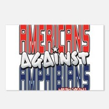 Americans Against Amphibians Postcards (Package of