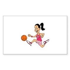 Dribbling Rectangle Decal