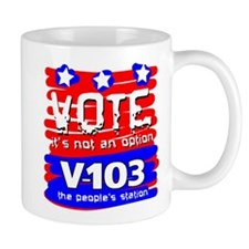 VOTE It's Not An Option Mug