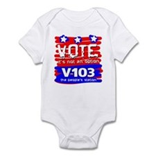 VOTE It's Not An Option Infant Bodysuit