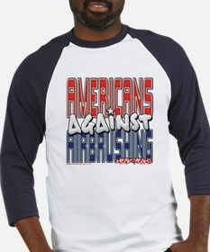 Americans Against Airbrushing Baseball Jersey