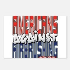 Americans Against Airbrushing Postcards (Package o