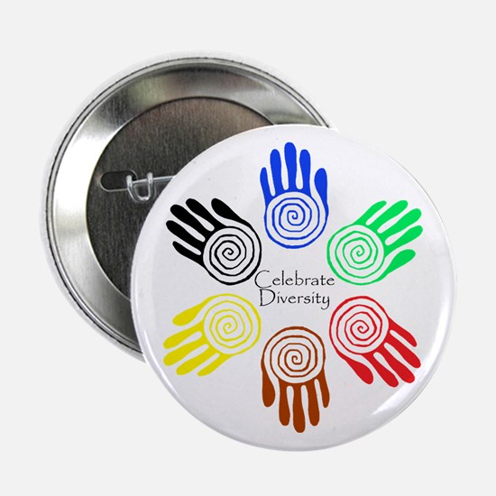"""Celebrate Diversity Circle 2.25"""" Button"""