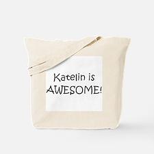 Unique I love katelin Tote Bag