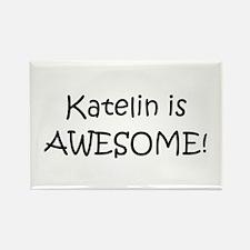 Funny Katelin Rectangle Magnet