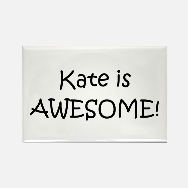 Cute Kate Rectangle Magnet