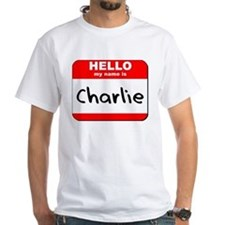 Hello my name is Charlie Shirt