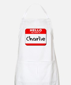 Hello my name is Charlie BBQ Apron