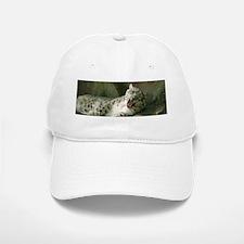 Snow Leopard B003 Baseball Baseball Cap